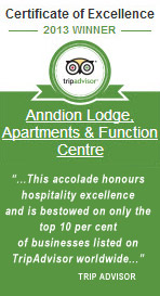 Trip Advisor Accommodation Awards